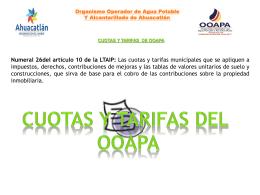 26_cuotas_y_tarifas_municipales - OOAPA