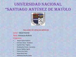 ANOREXIA Y BULIMIA - unasam-obtetricia-II