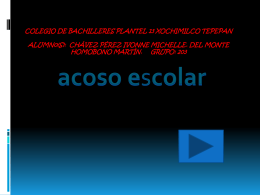 acoso escolar(power point)