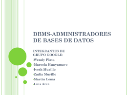 dbms - Blog de ESPOL