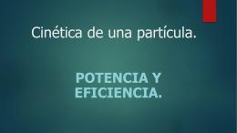 Potencia y eficiencia - Blog de Fabian Landy