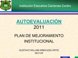 Diapositiva 1 - INSTITUCION EDUCATIVA CARDENAS CENTRO