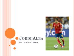 Jordi Alba - profepickett