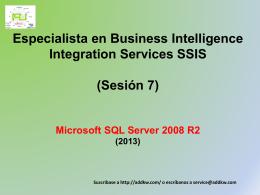 Tareas de SQL Server