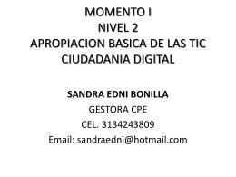 ESTRATEGIA CIUDADANIA DIGITAL