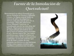 Fuente de la Inmolación de Quetzalcóatl