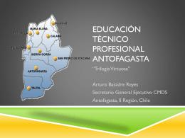 Educación técnico profesional Antofagasta. Trilogía