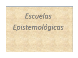 CIUDADANIA-EPISTEMOLOGIA