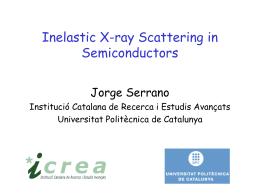 Prof. Jorge Serrano - Cinvestav Unidad Querétaro