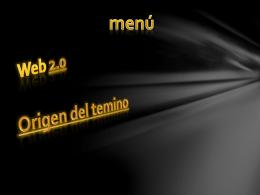 Web 2.0 - informaticayconvergenciafinal