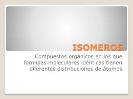 ISOMEROS GEOMÉTRICOS