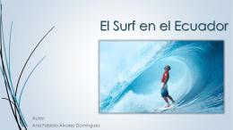 El Surf en el Ecuador