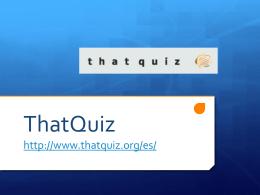 ThatQuiz - Schoology
