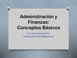 Administración y Finanzas sin videos