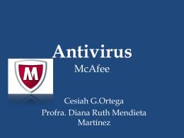 Antivirus - Cesiah Ortega