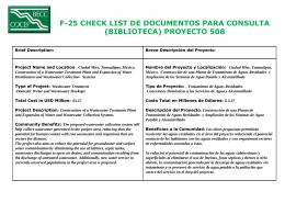 Planning Documents