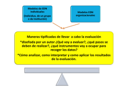 Modelos de EDN individuales - ana-upn