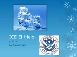 ICE El Hielo - Giselle Gimenez