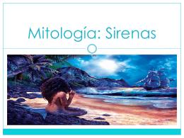 Mitología sirenas