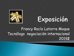 Exposición - rochynegocios