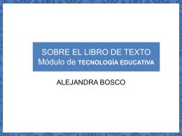 PROYECTO DOCENTE TECNOLOGÍA EDUCATIVA