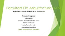 arquitectura organica.ati
