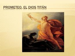 Prometeo, el dios tintan