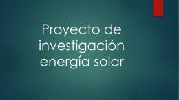 Proyecto de investigación energía solar (694,6