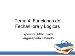 Tema 4FechaLogica