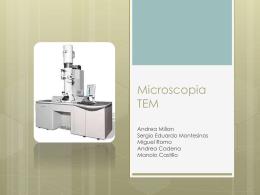 Microscopia TEM - ciencia