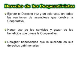 Deberes de los Cooperativistas