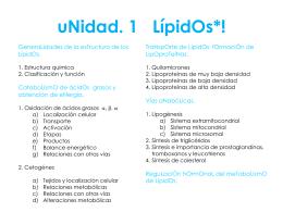 uNidad. 1 LípidOs