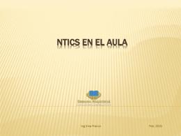 NTICS en el aula - mi centro educativo