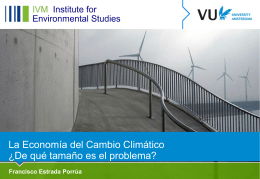 FRANCISCO ESTRADA__Economics of climate - pincc
