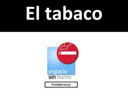 El tabaco - WordPress.com