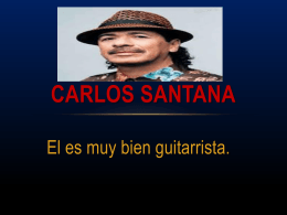 Carlos Santana - Level1MexicanArtists