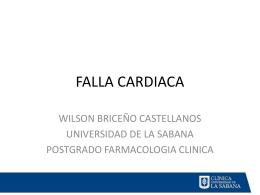 FALLA CARDIACA - clinicalevidence