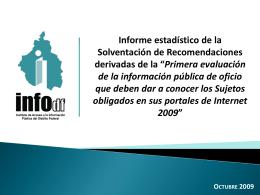 6_Presentacion SOLVE.. - Instituto de Acceso a la Información