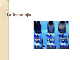 La Tecnolojia - CEIP La Zafra