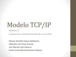 Modelo TCP IP Equipo 3