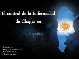 El control de la Enfermedad de Chagas en Argentina.