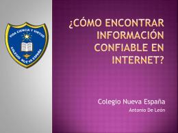 Diapositiva 1 - centronuevaespanha
