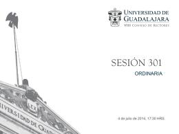 06 Previsiones 2014B - Universidad de Guadalajara