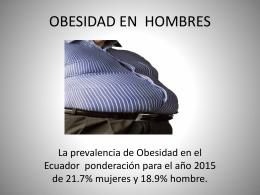 OBESIDAD EN HOMBRES