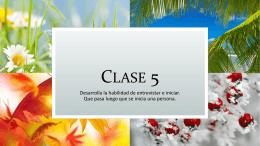 Clase 5 - Area Natividad