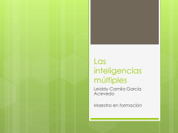 Las inteligencias múltiples (144717)