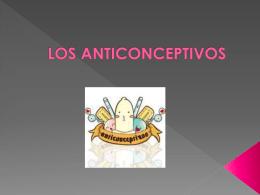 los anticonceptivos