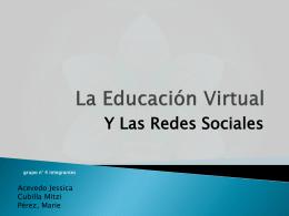 La Educación Virtual - jemima2012
