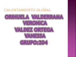 Calentamiento global - TIC-2-24