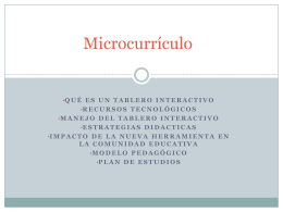 Microcurrículo